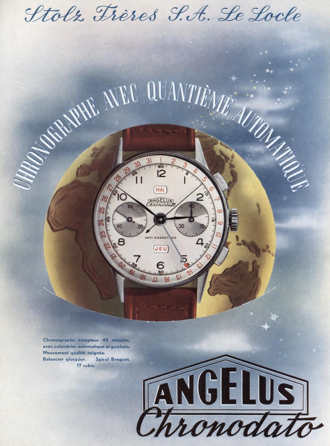 7e5eb2a0ea35 La marca suiza Angelus vuelve a la vida