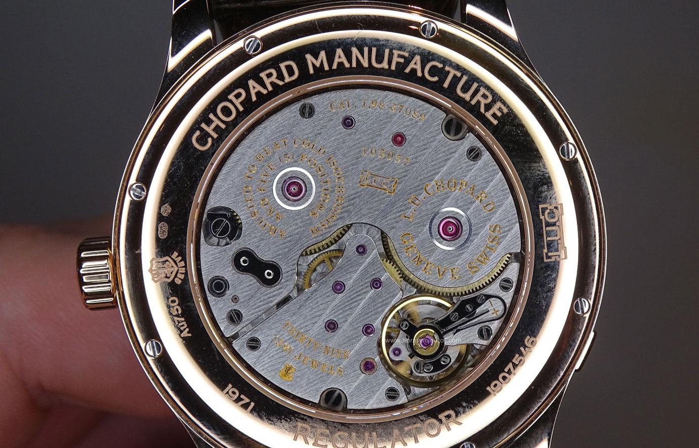Chopard L.U.C Regulator calibre