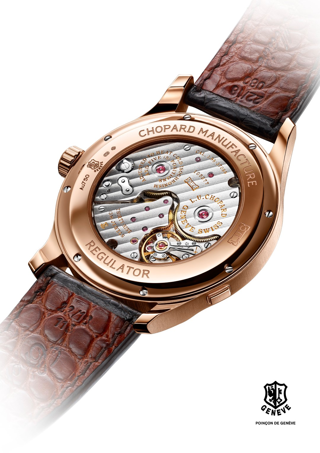 Chopard L.U.C Regulator - trasera