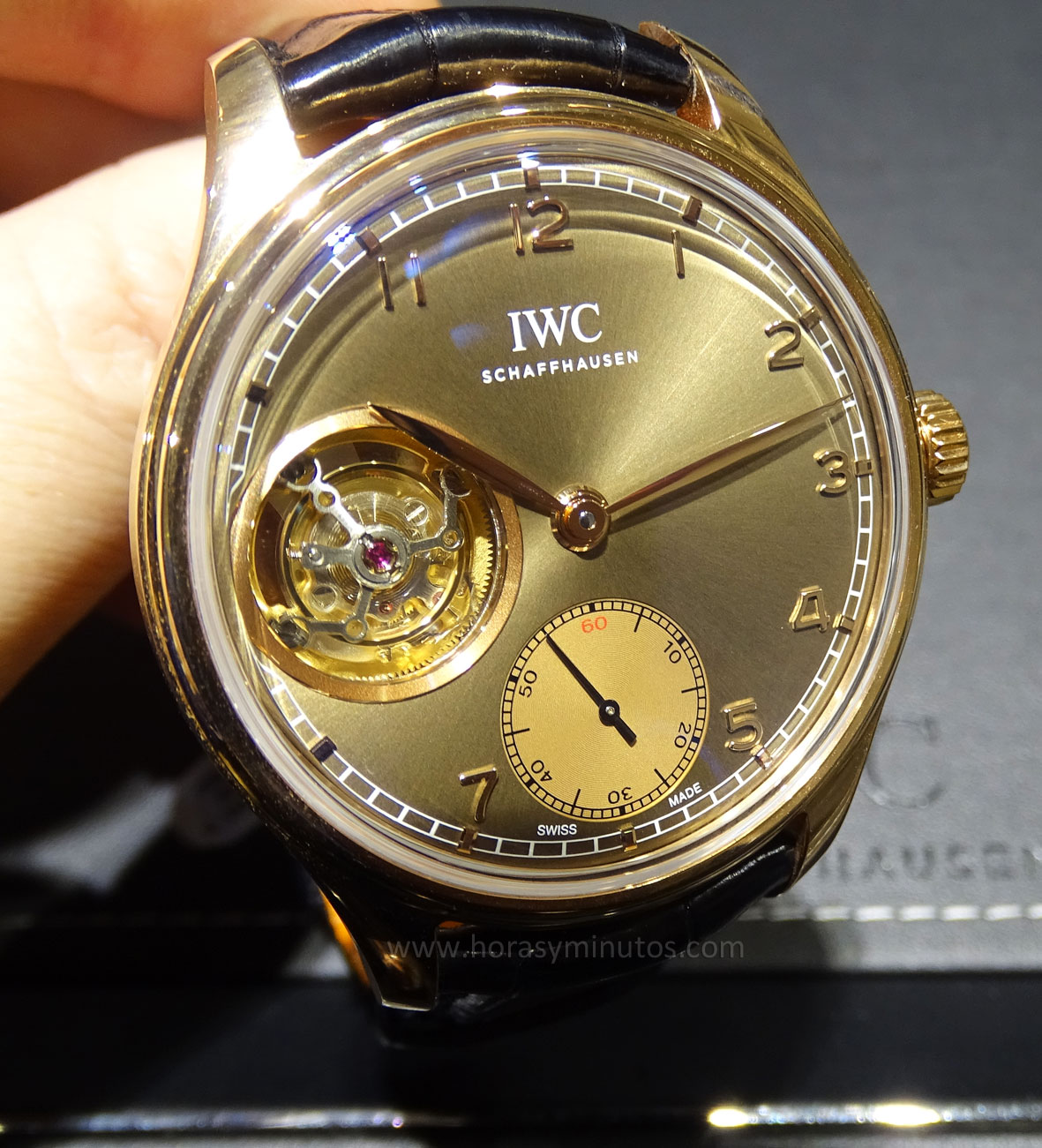 IWC Portuguese Tourbillon Hand-Wound Metropolitan Boutique Edition