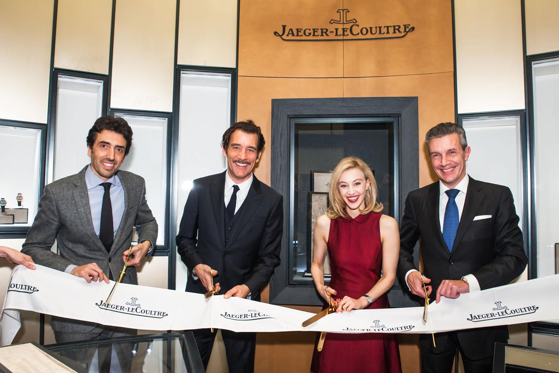 Jaeger-LeCoultre New York flagship corte de cinta