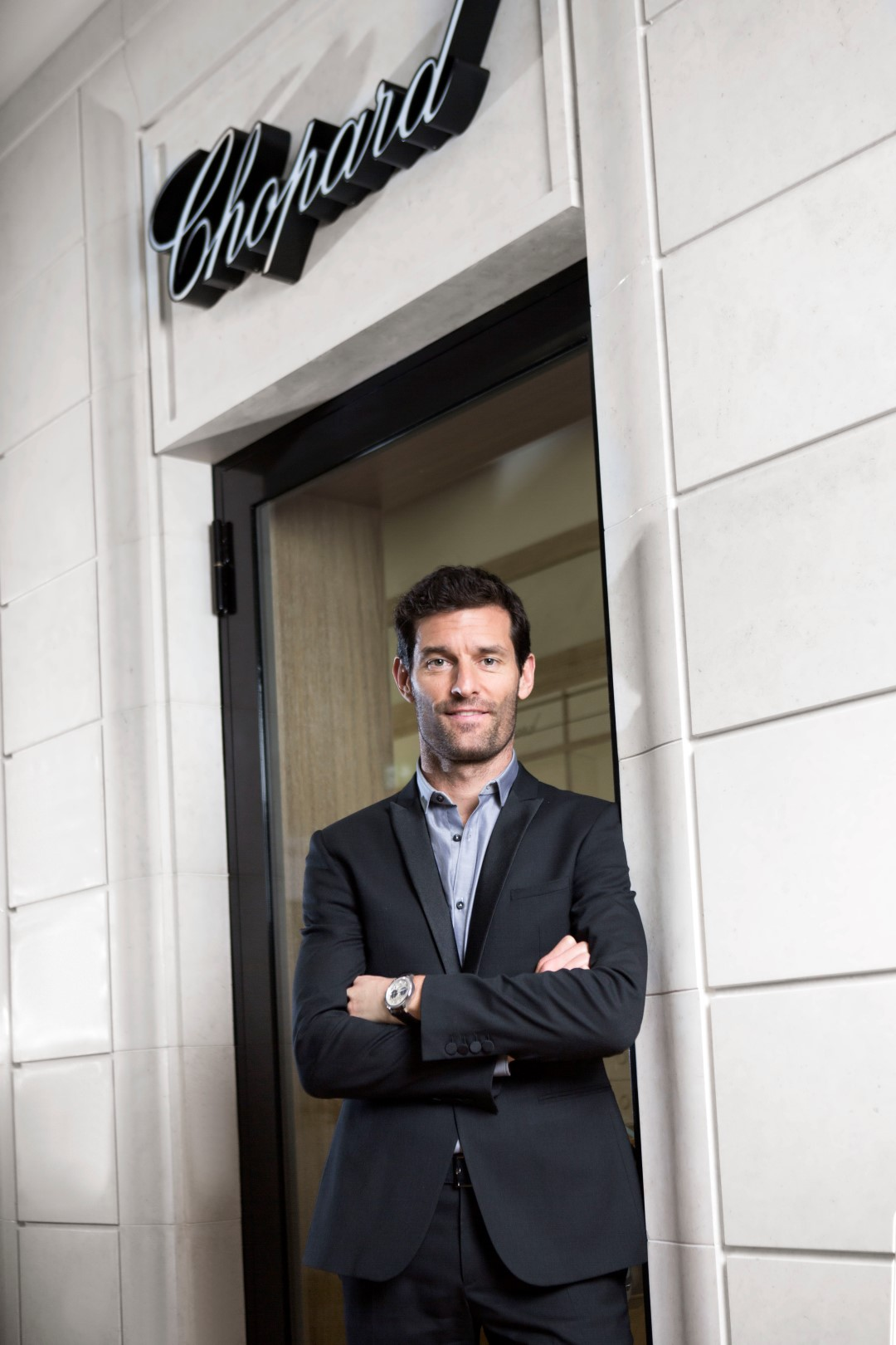 Mark Webber - Nuevo embajador de Chopard ®JohannSauty-Chopard