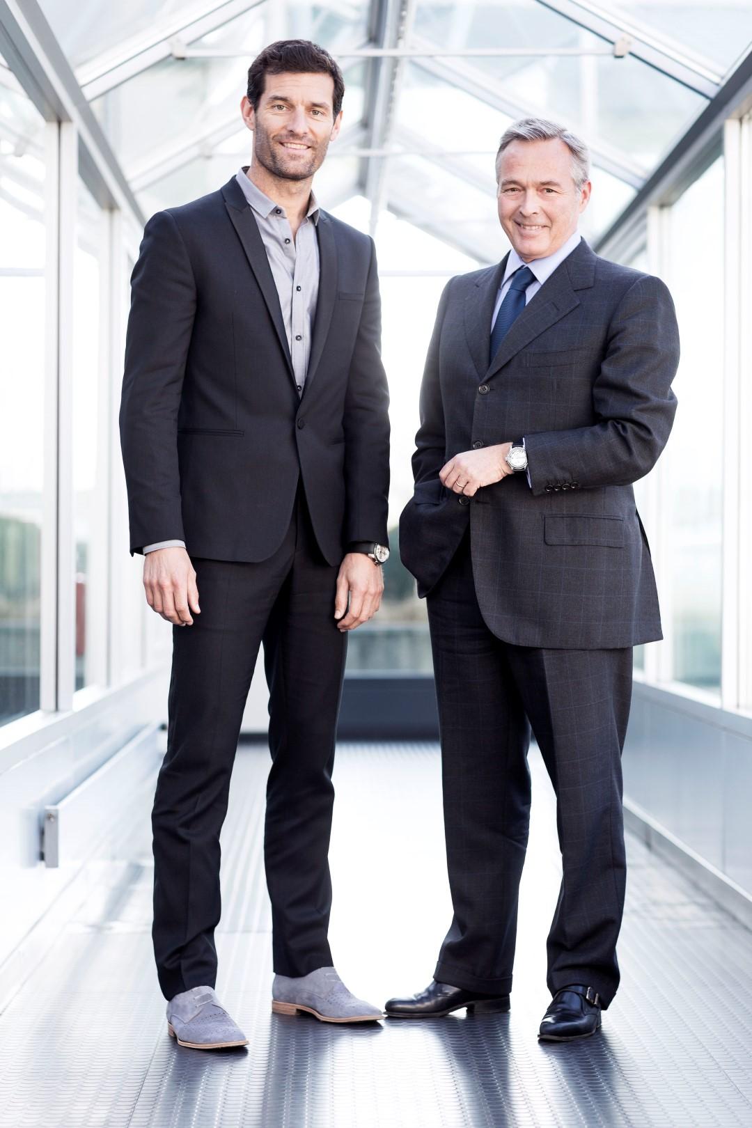 Mark Webber and Karl-Friedrich Scheufele ®JohannSauty-Chopard (Large)