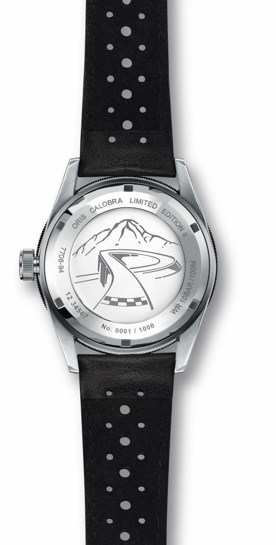 Oris Calobra Chronograph Limited Edition II reverso