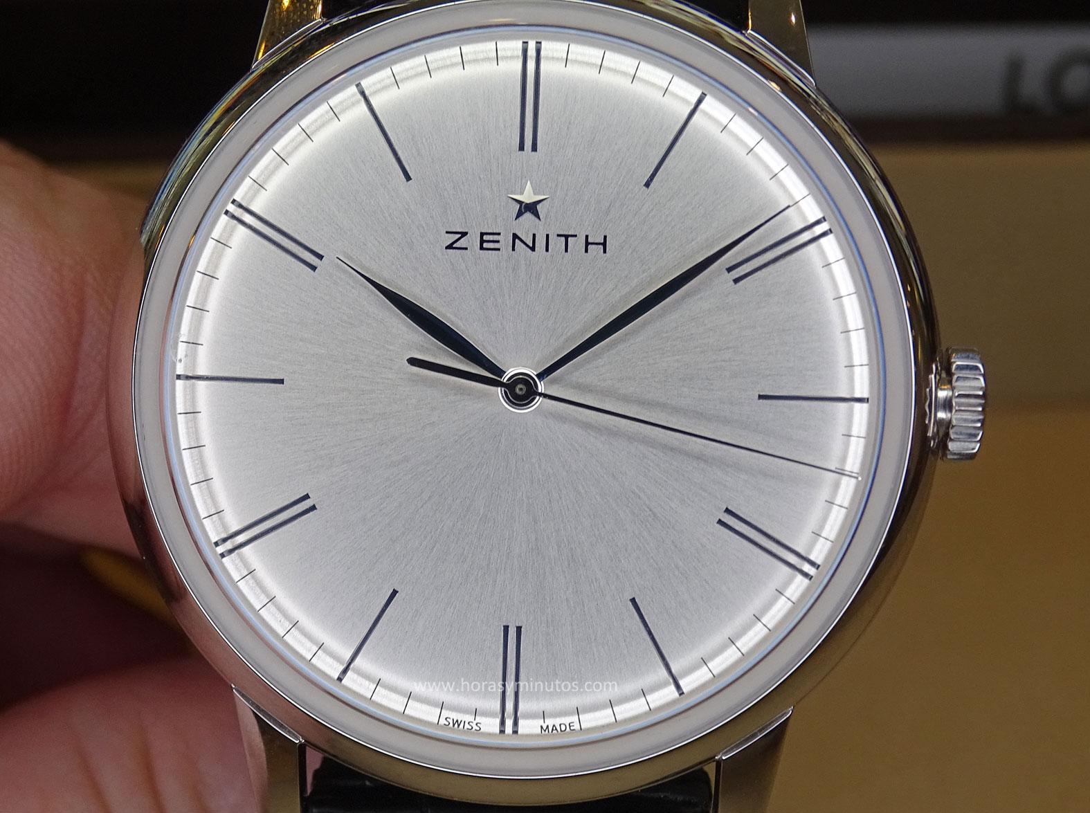 Zenith Elite 6150 esfera 1