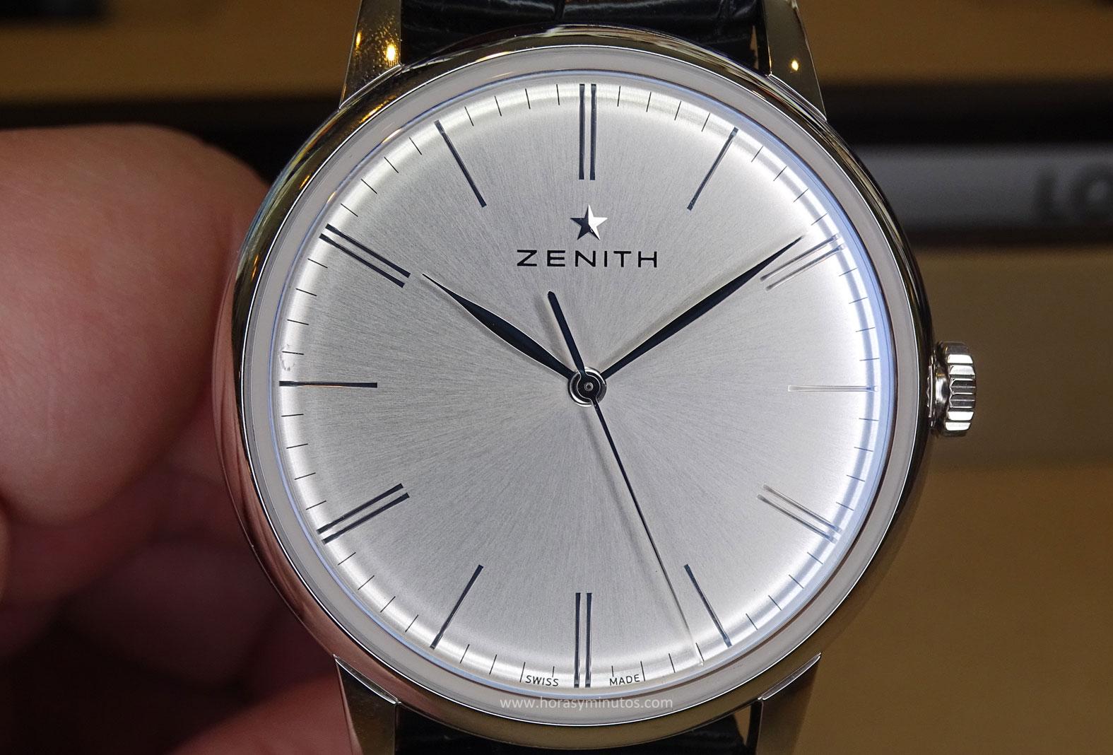Zenith Elite 6150 esfera