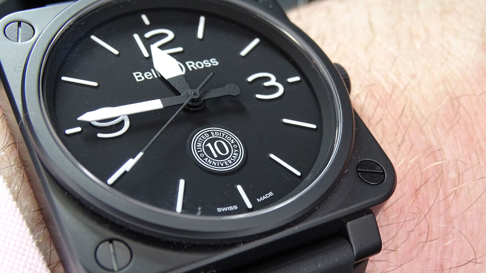 Bell and Ross BR 01 10th Anniversary perfil