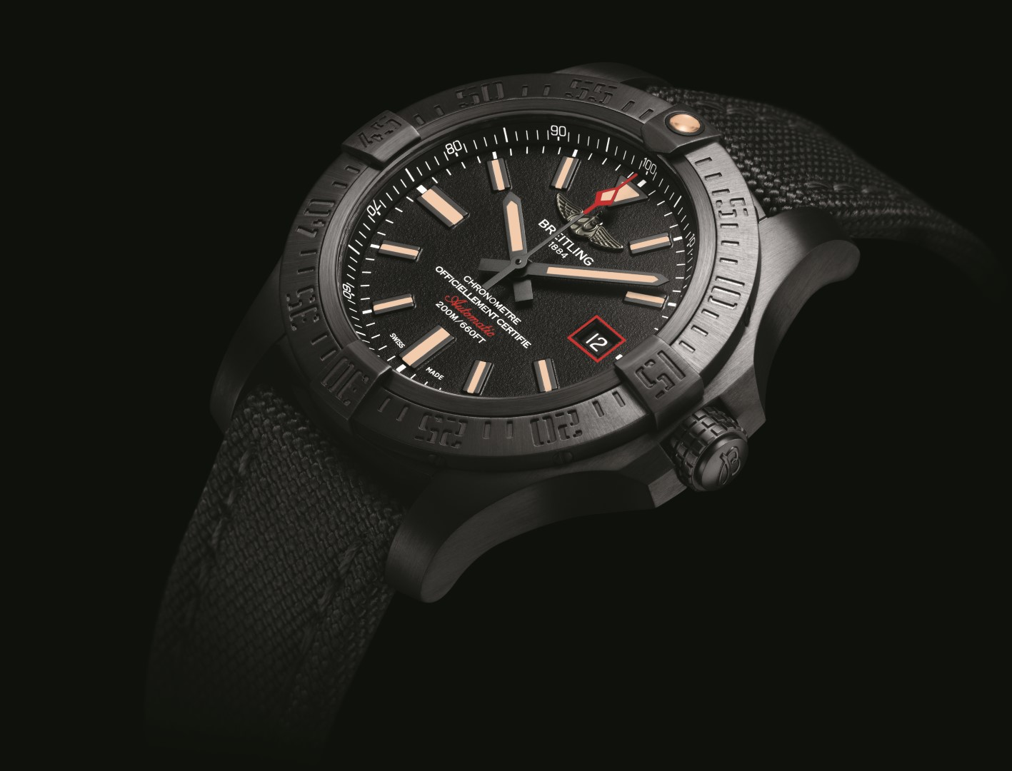 f3b4046e1 Nuevo Breitling Avenger Blackbird 44 mm. | Horas y Minutos