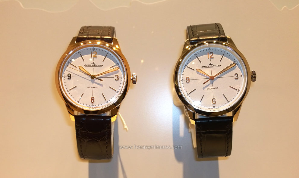 Jaeger-LeCoultre Geophysic oro y acero