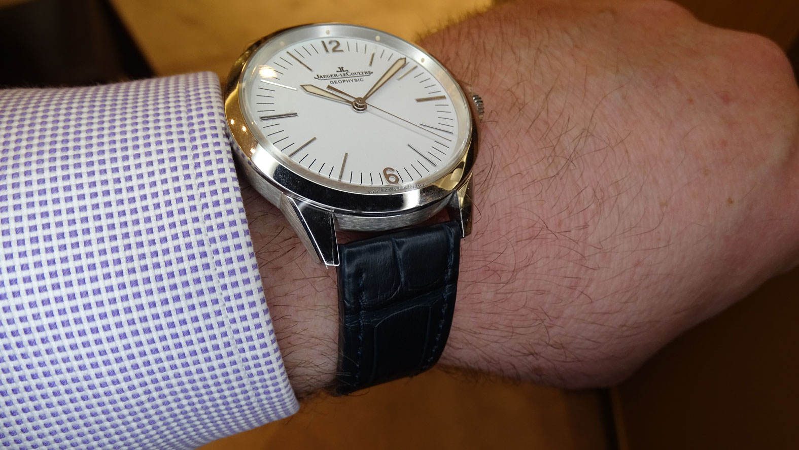 Jaeger-LeCoultre Geophysic platino perfil