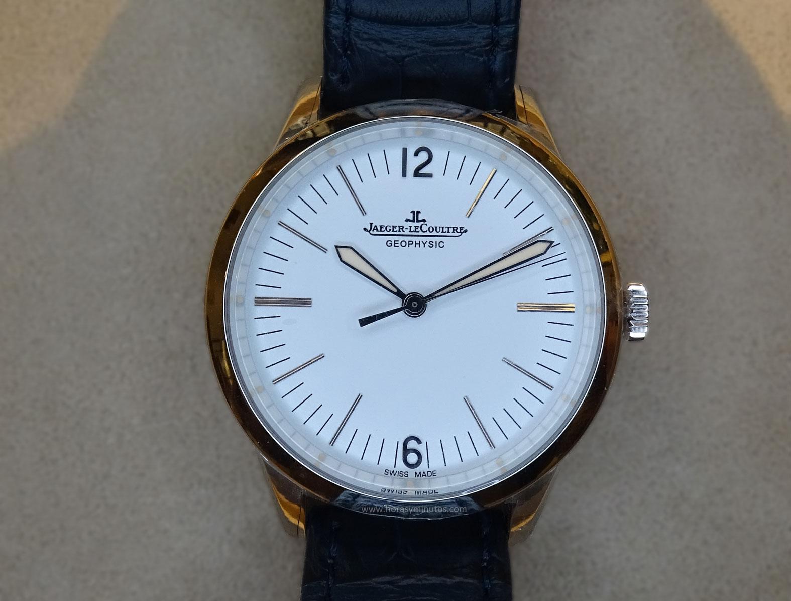 Jaeger-LeCoultre Geophysic platino