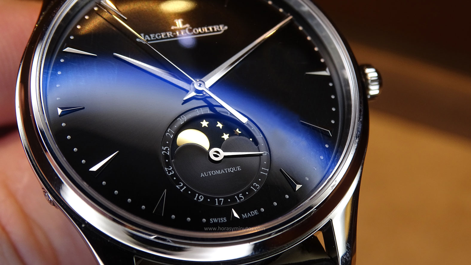 Jaeger-LeCoultre Master Ultra Thin Moon fases lunares