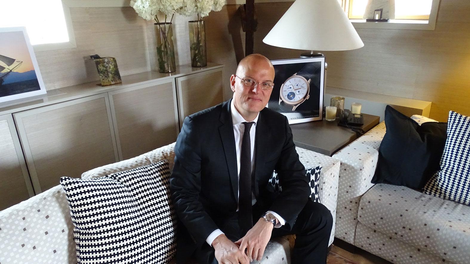 Jens Koch, Vice President International Marketing Director de Montblanc