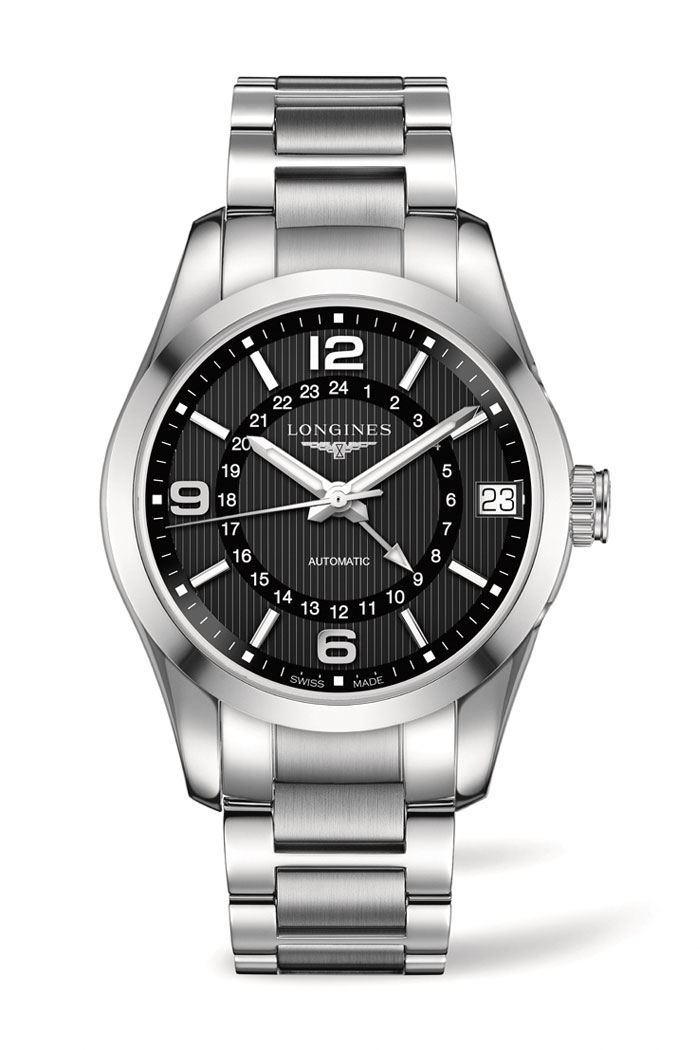 Longines Conquest Classic Automatic GMT
