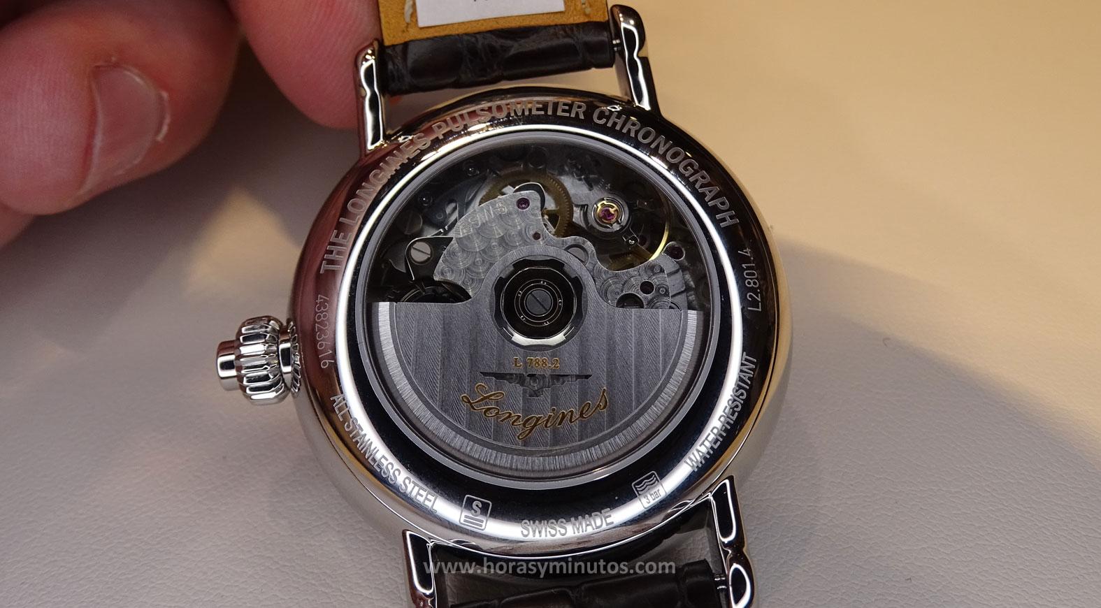 Longines Pulsometer Chronograph - calibre