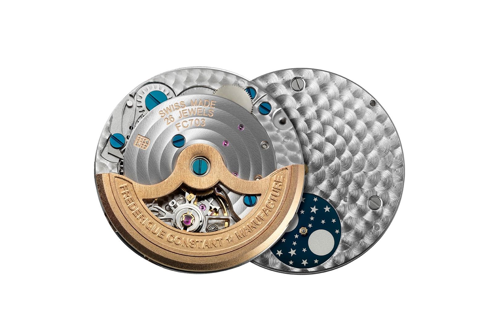 Slimline Moonphase Manufacture For Women - Calibre