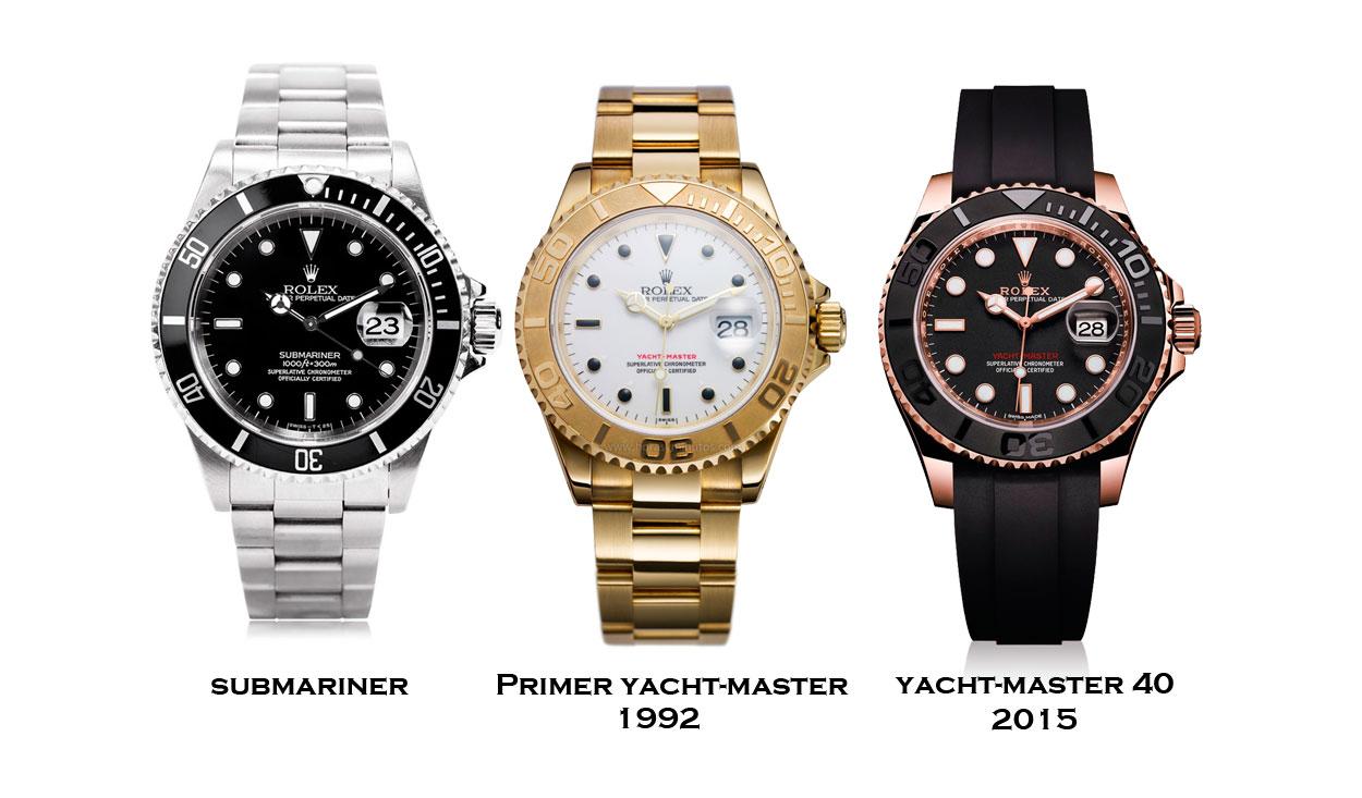 Submariner-y-Yatch-Master-1992-2015-