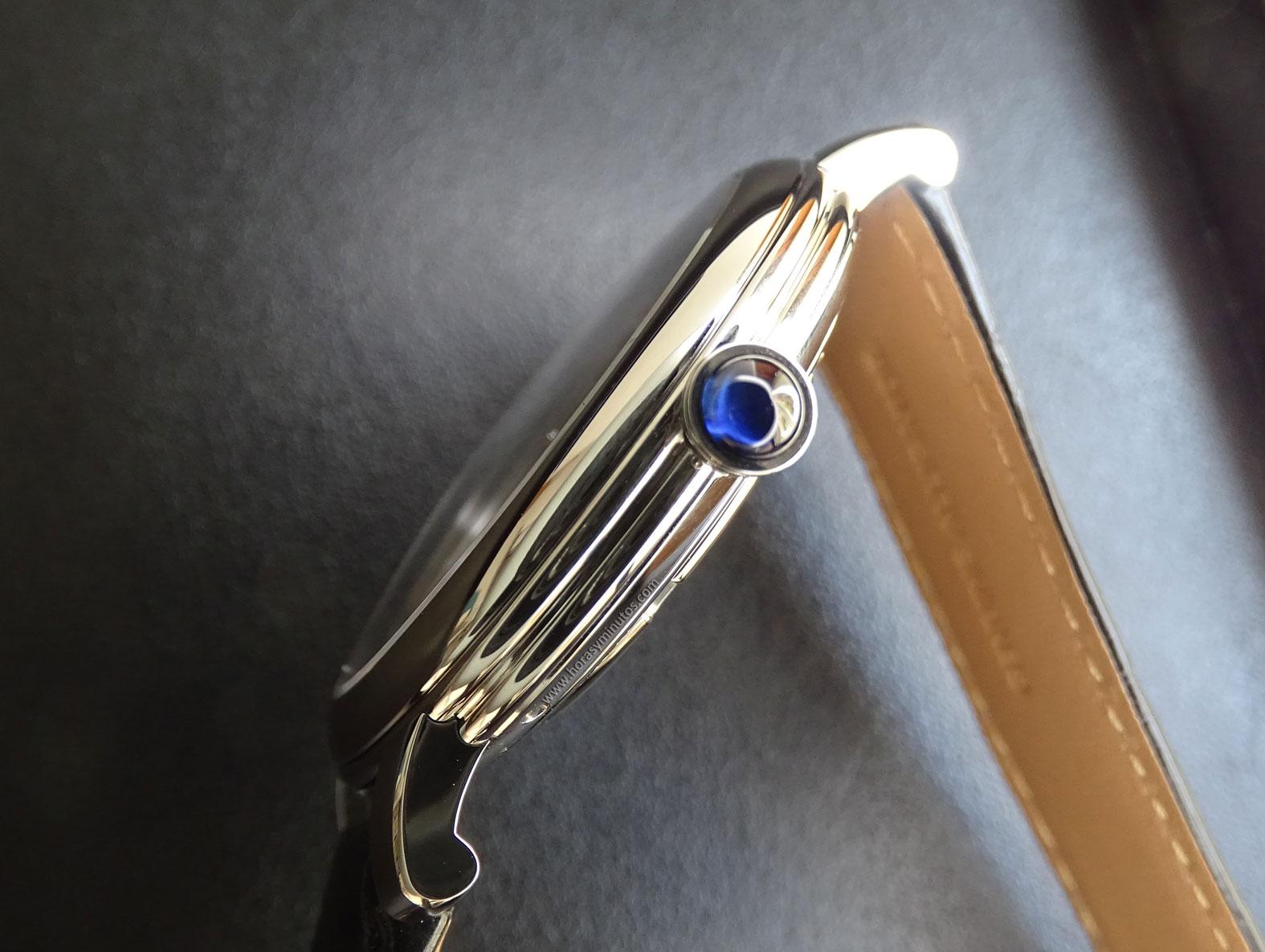 Boucheron Epure Acier 42 mm doble bocel de la carrura