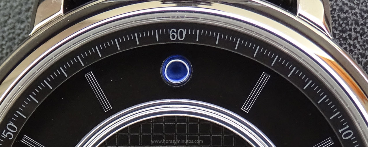 Boucheron Epure Acier 42 mm zafiro