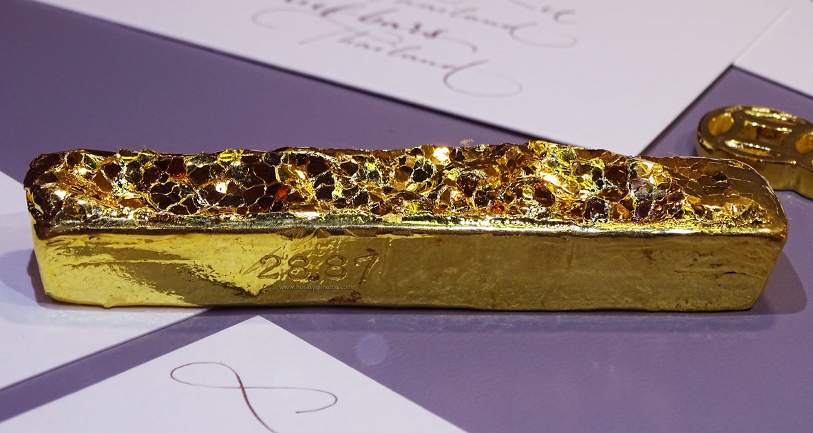 Degussa Colección Rothschild Lingote Panal de miel