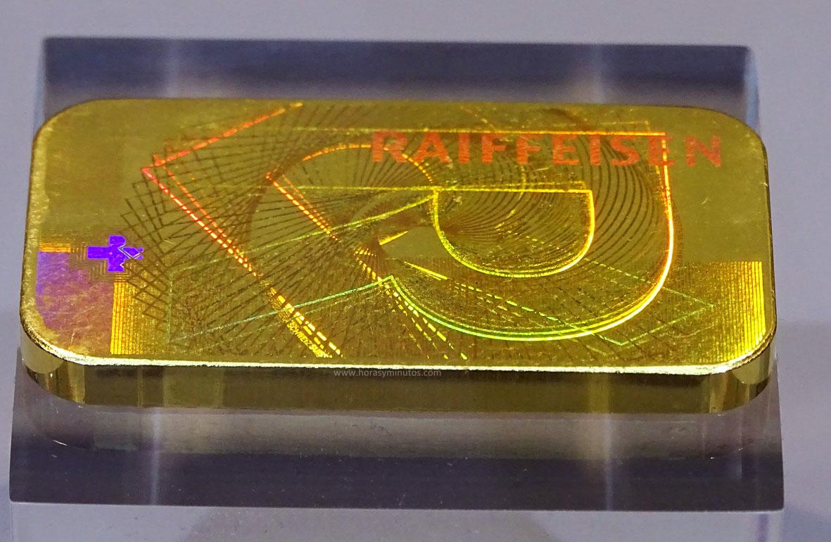 Degussa Colección Rothschild Lingote con Kinegram 1