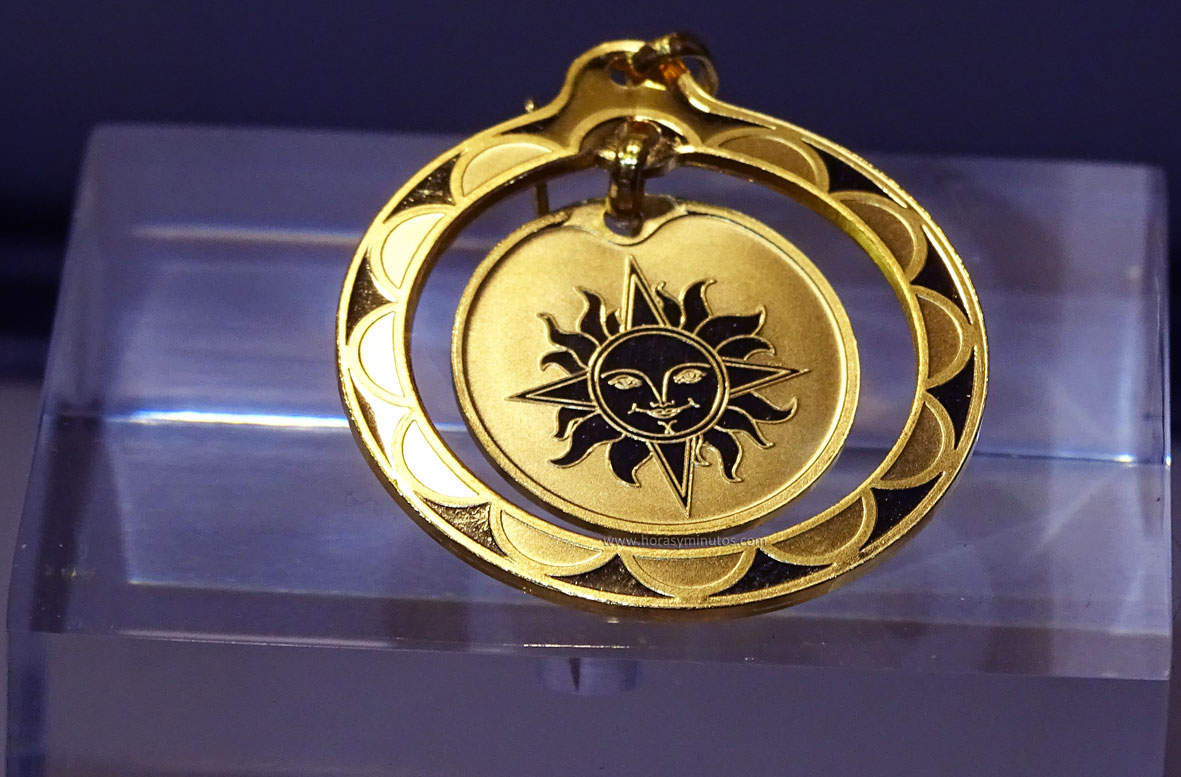 Degussa Colección Rothschild colgante
