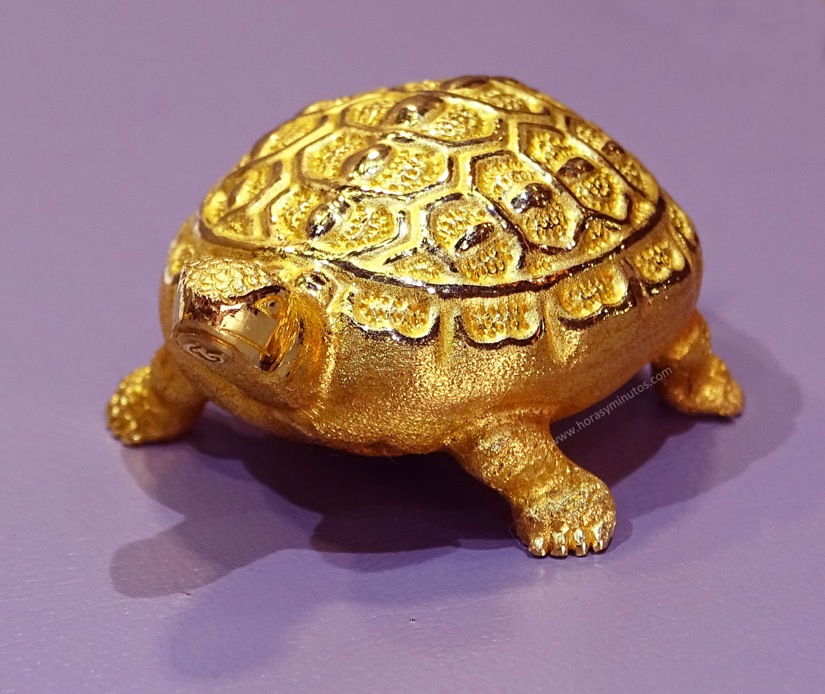 Degussa Colección Rothschild tortuga Corea del Sur