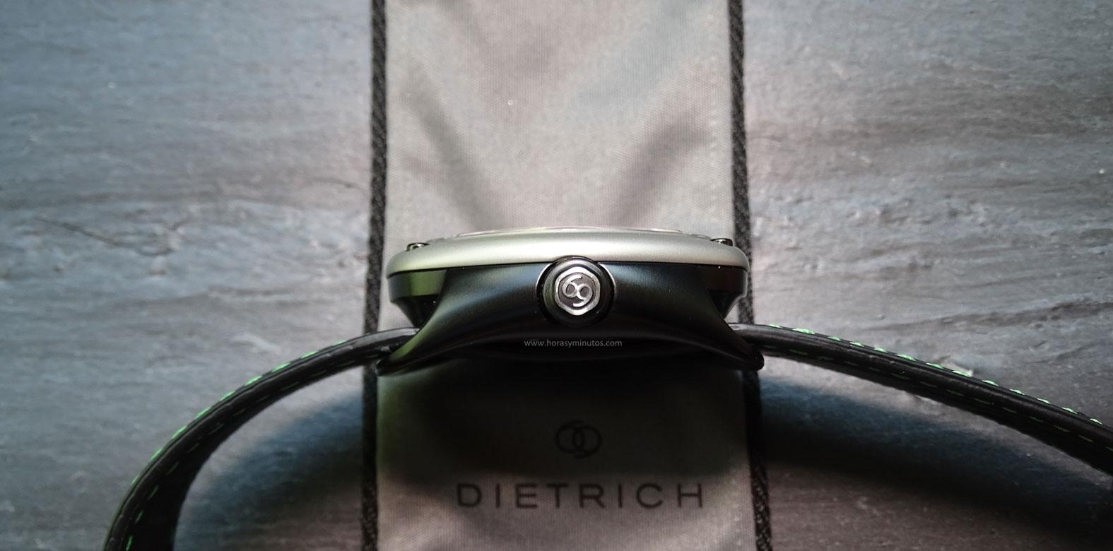 Dietrich OT 1. Se puede observar cómo la corona conserva el 69 del nombre original de la empresa
