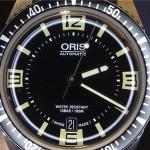 En la muñeca: Oris Divers Sixty-Five