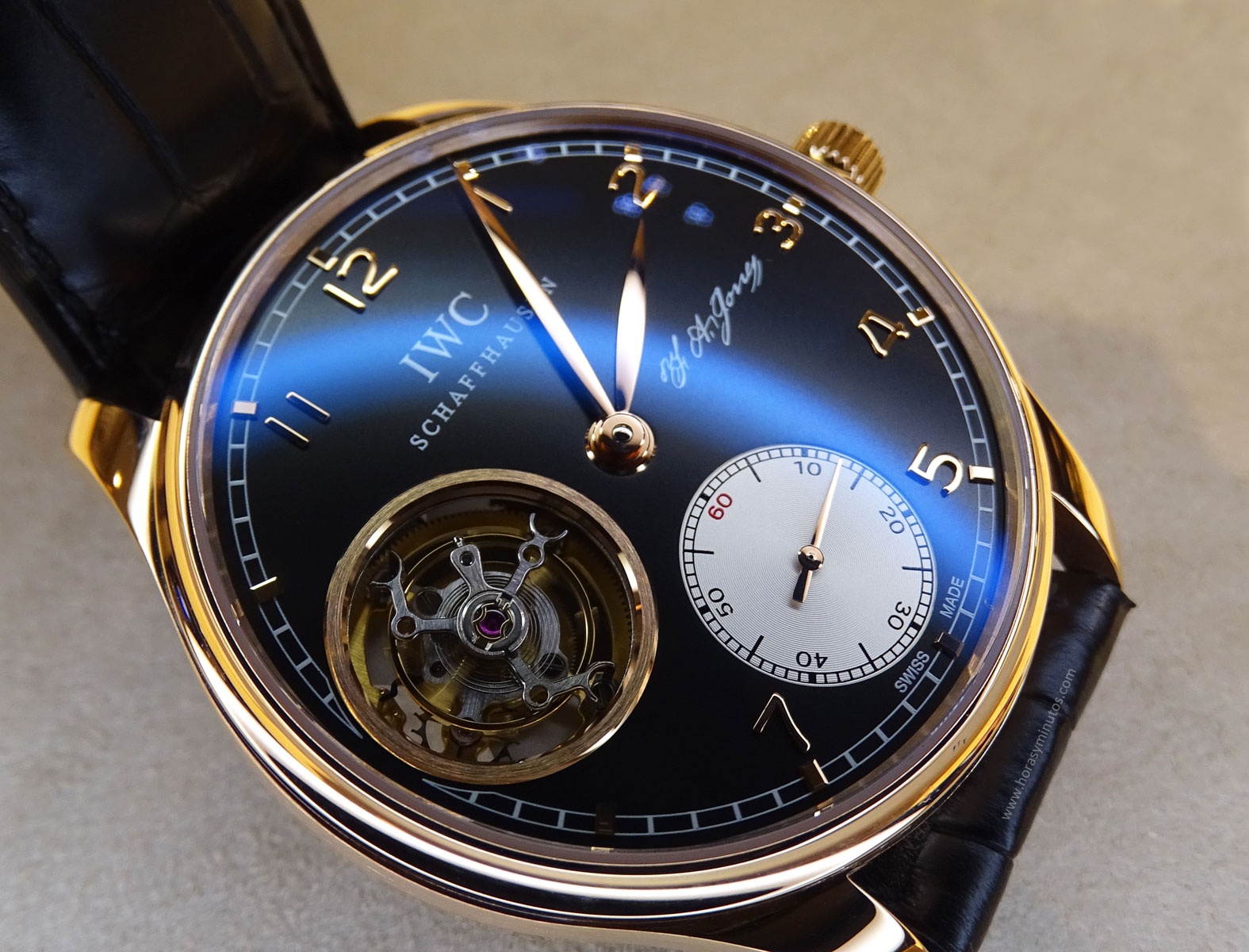 IWC Portugues Tourbillon Manual Jones