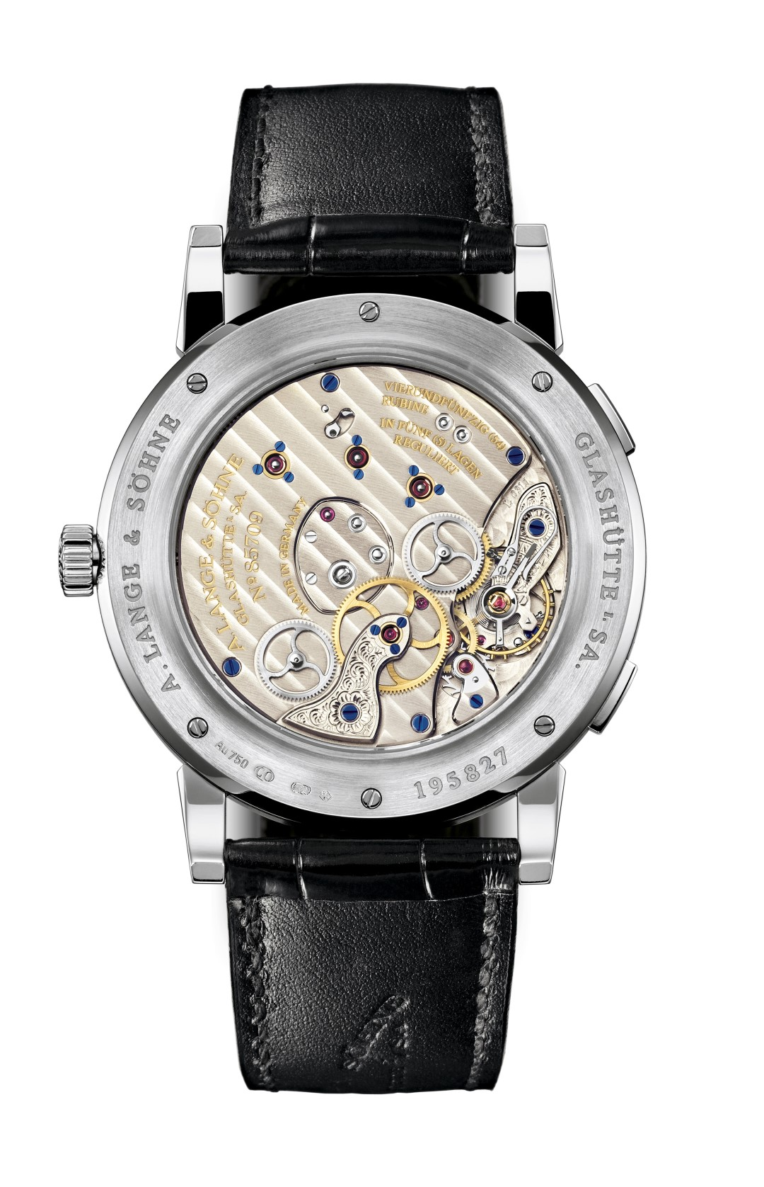 Lange 1 Time Zone reverso