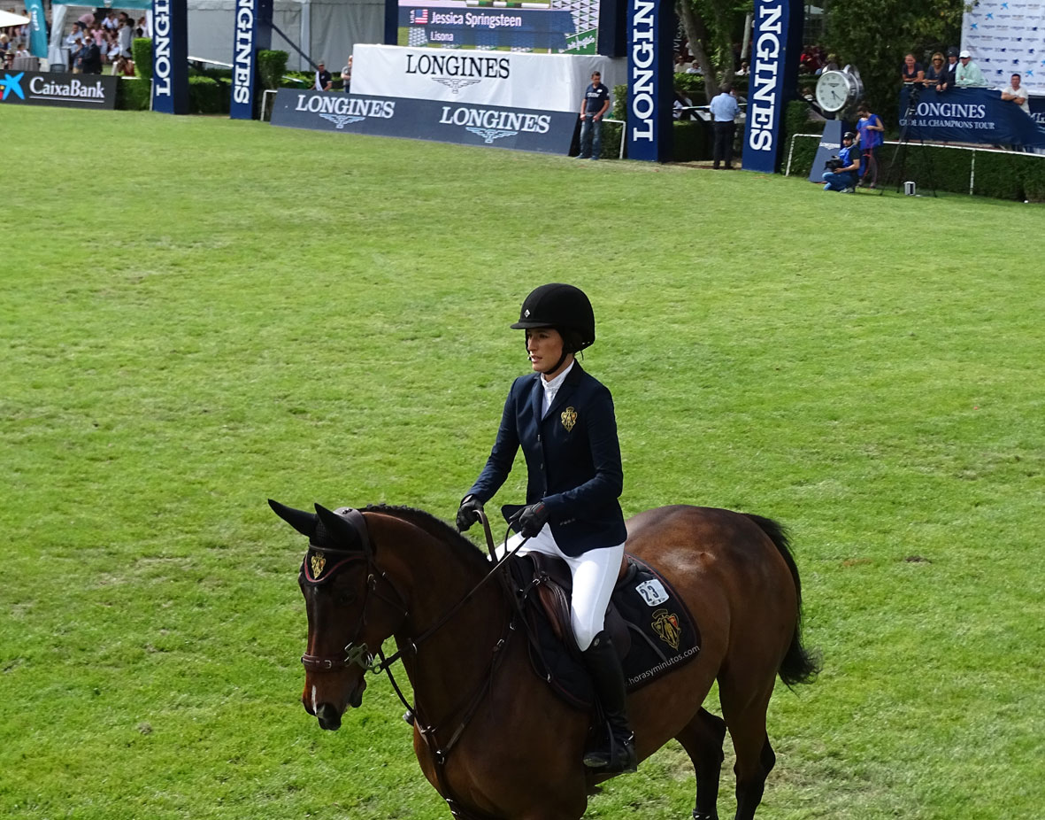 Longines Global Champions Tour Madrid - Jessica Springsteen