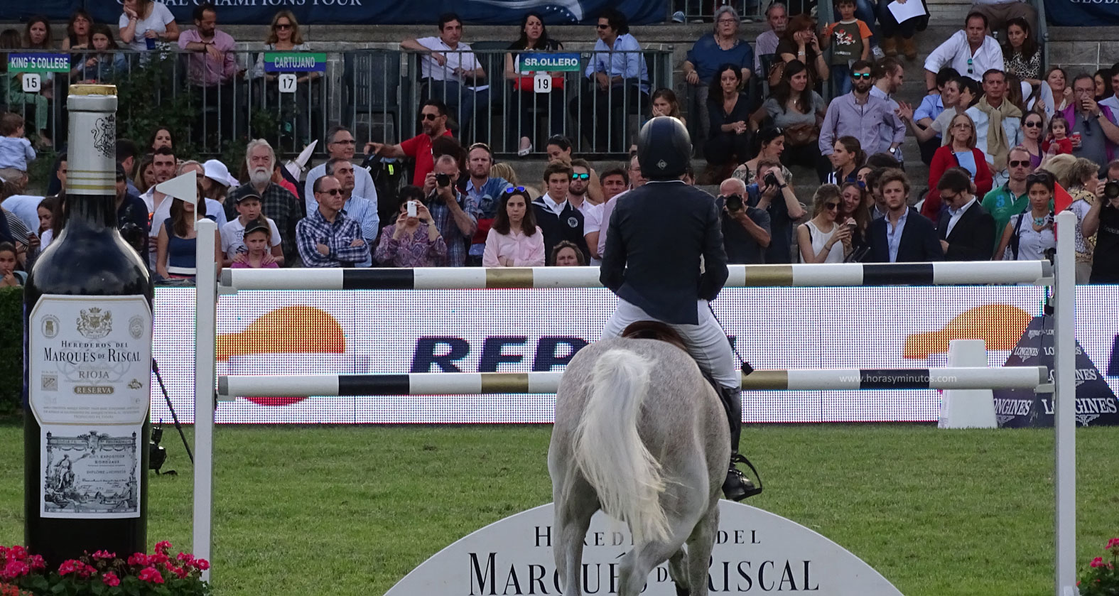 Longines Global Champions Tour Madrid - obstáculo