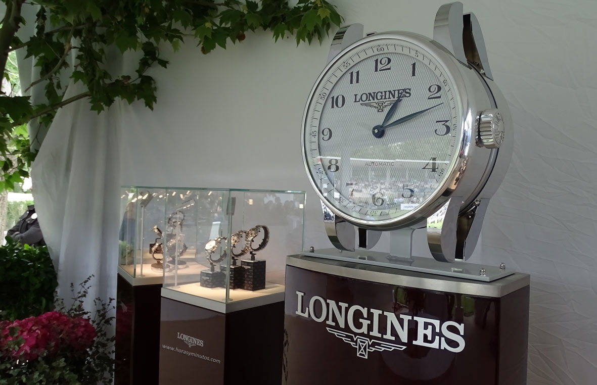 Longines Global Champions Tour Madrid relojes