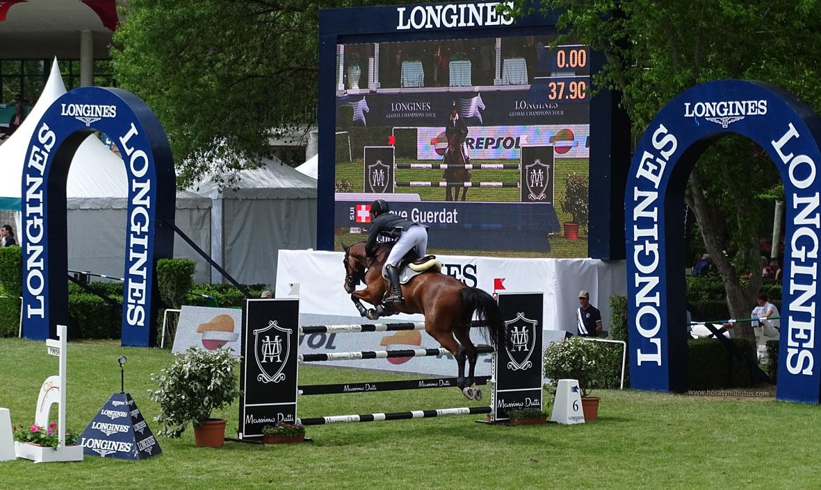 Longines Global Champions Tour Madrid salto