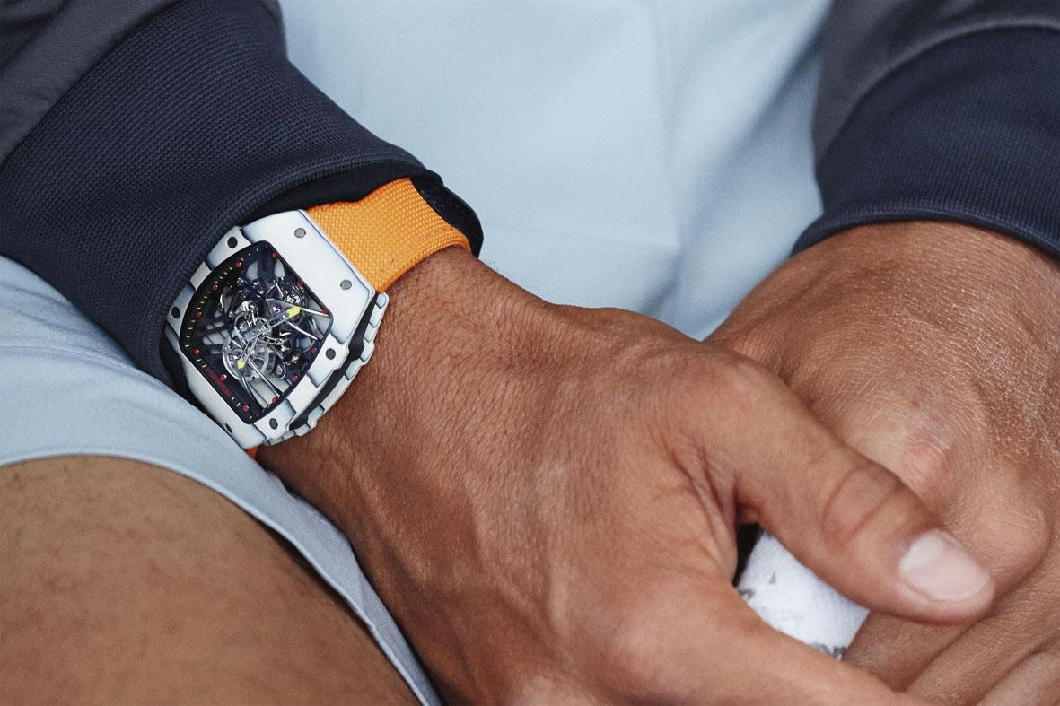 Richard Mille RM 27-02 Tourbillon Rafael Nadal detalle