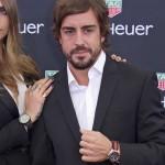 TAG Heuer con Cara Delevingne y Fernando Alonso en Mónaco