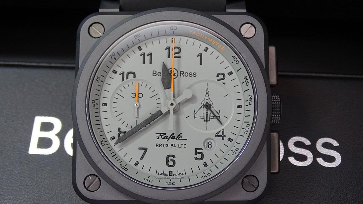 Bell & Ross BR03 94 Rafale frontal