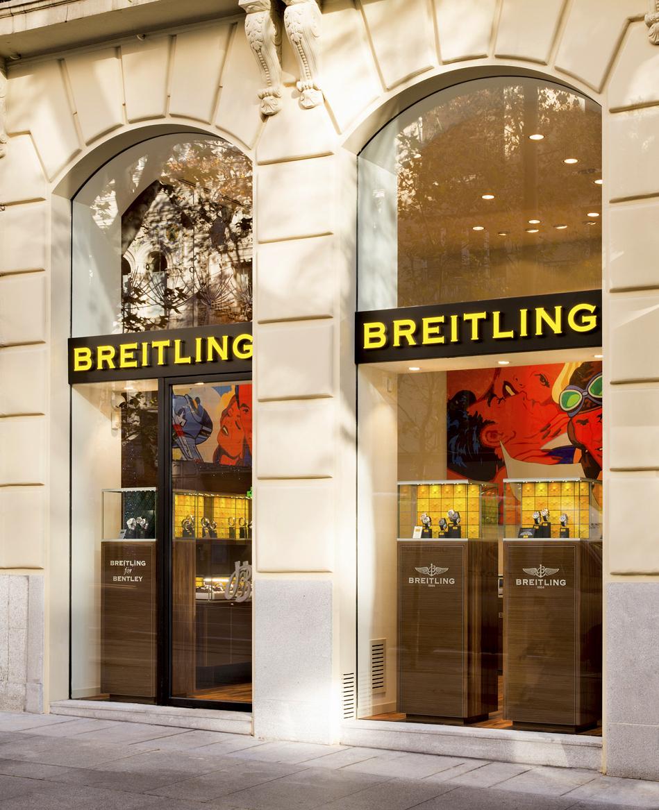 Boutique de Breitling en Madrid