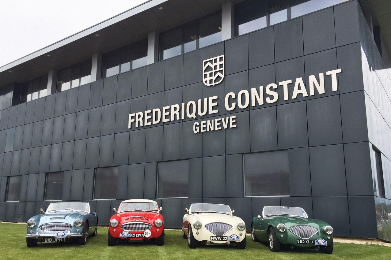 Frederique Constant Vintage Rally_Healey de visita