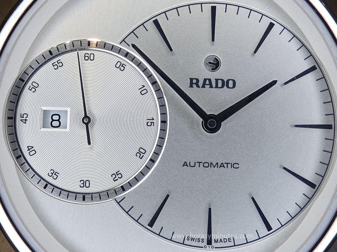 Rado DiaMaster Grande Seconde detalle de la esfera