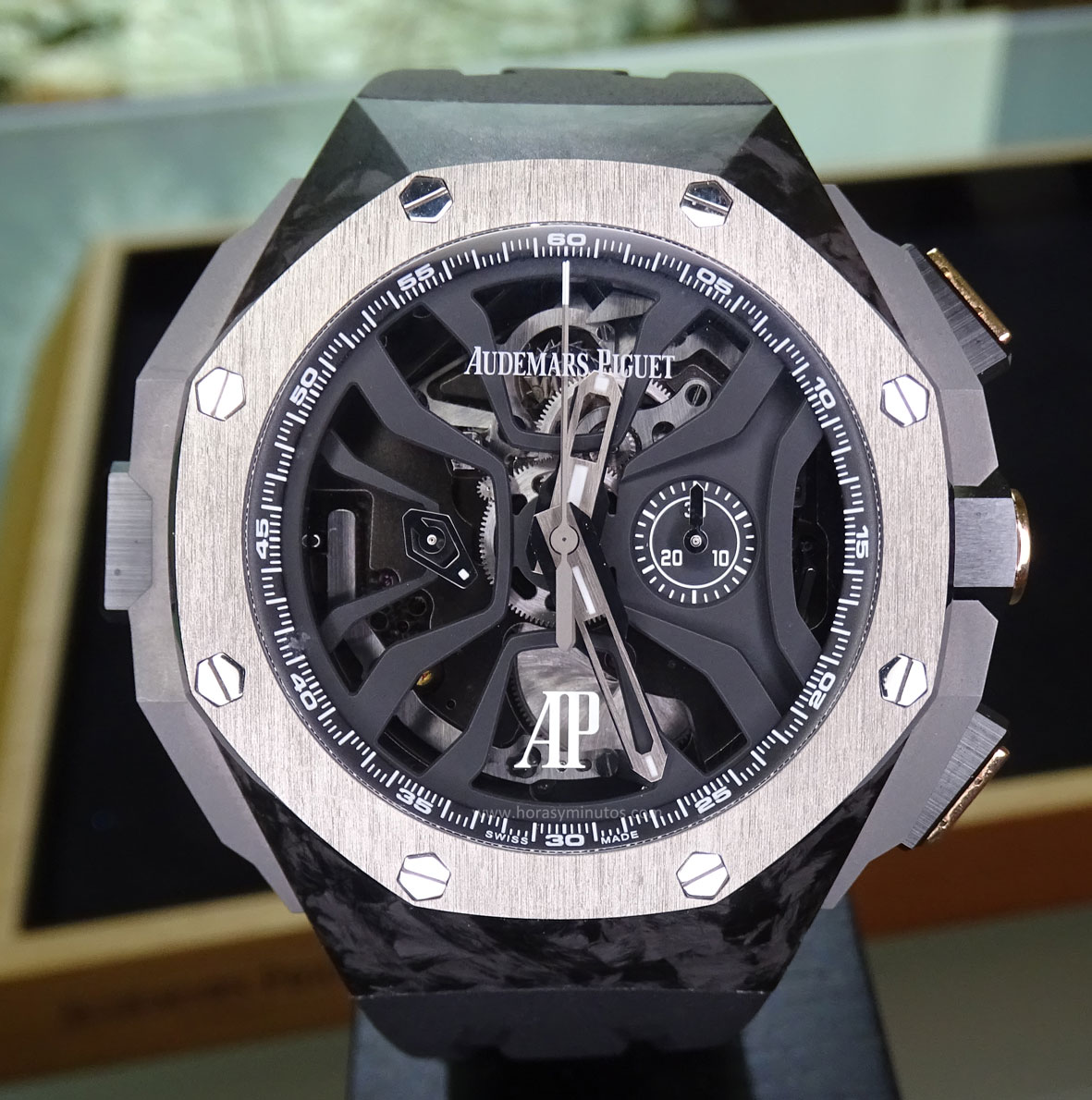 SIAR 2015 - Audemars Piguet Royal Oak Concept Laptimer Michael Schumacher