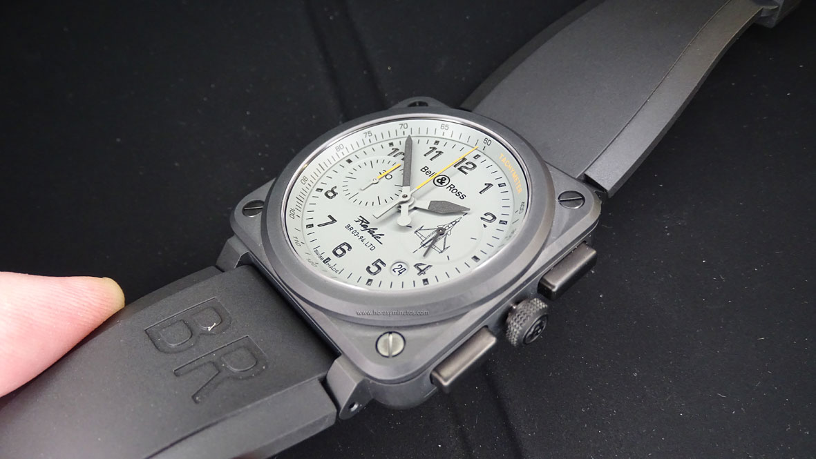 SIAR 2015 - Bell and Ross BR 03 92 Rafale