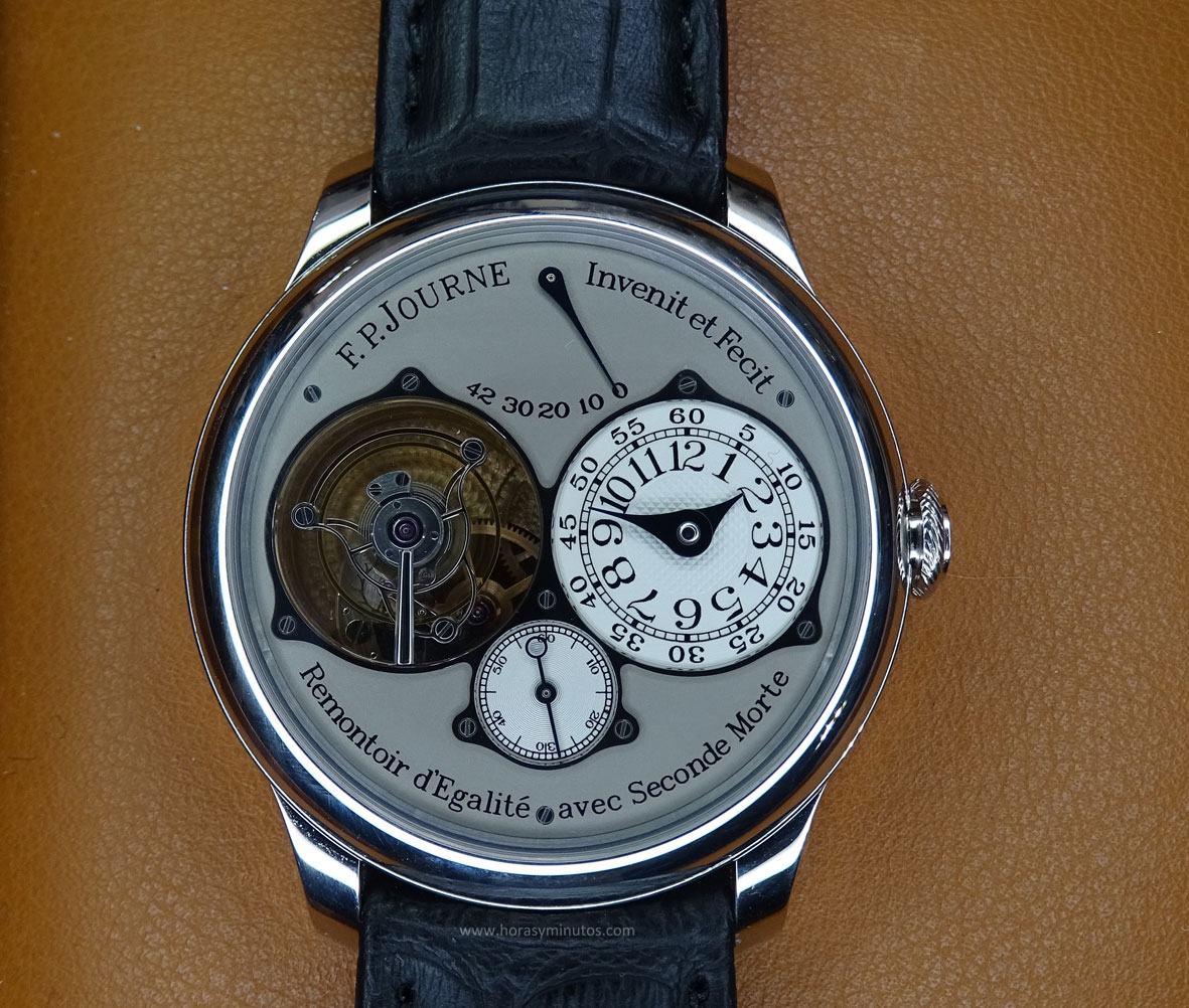 SIAR 2015 - FP Journe Tourbillon Souverain
