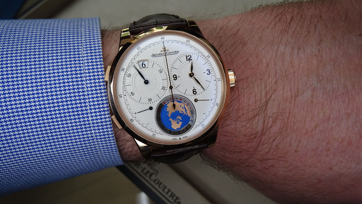 SIAR 2015 - Jaeger-LeCoultre Duomètre Unique Travel Time
