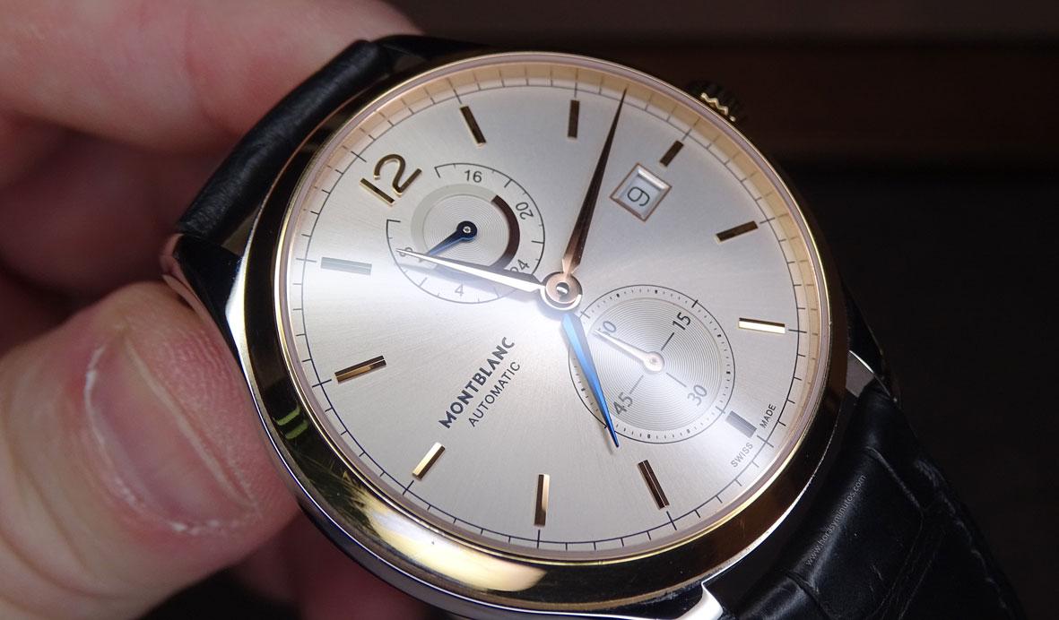 SIAR 2015 - Montblanc Heritage Chronométrie Dual Time