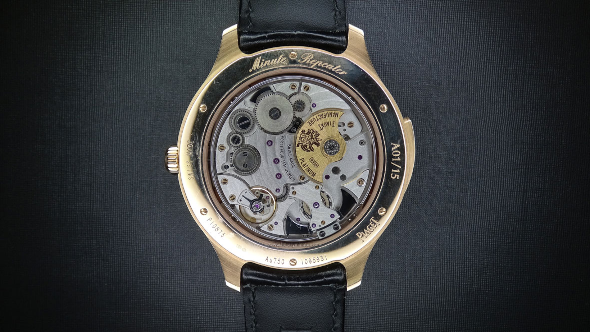 SIAR 2015 - Piaget Emperador Minute Repeater calibre