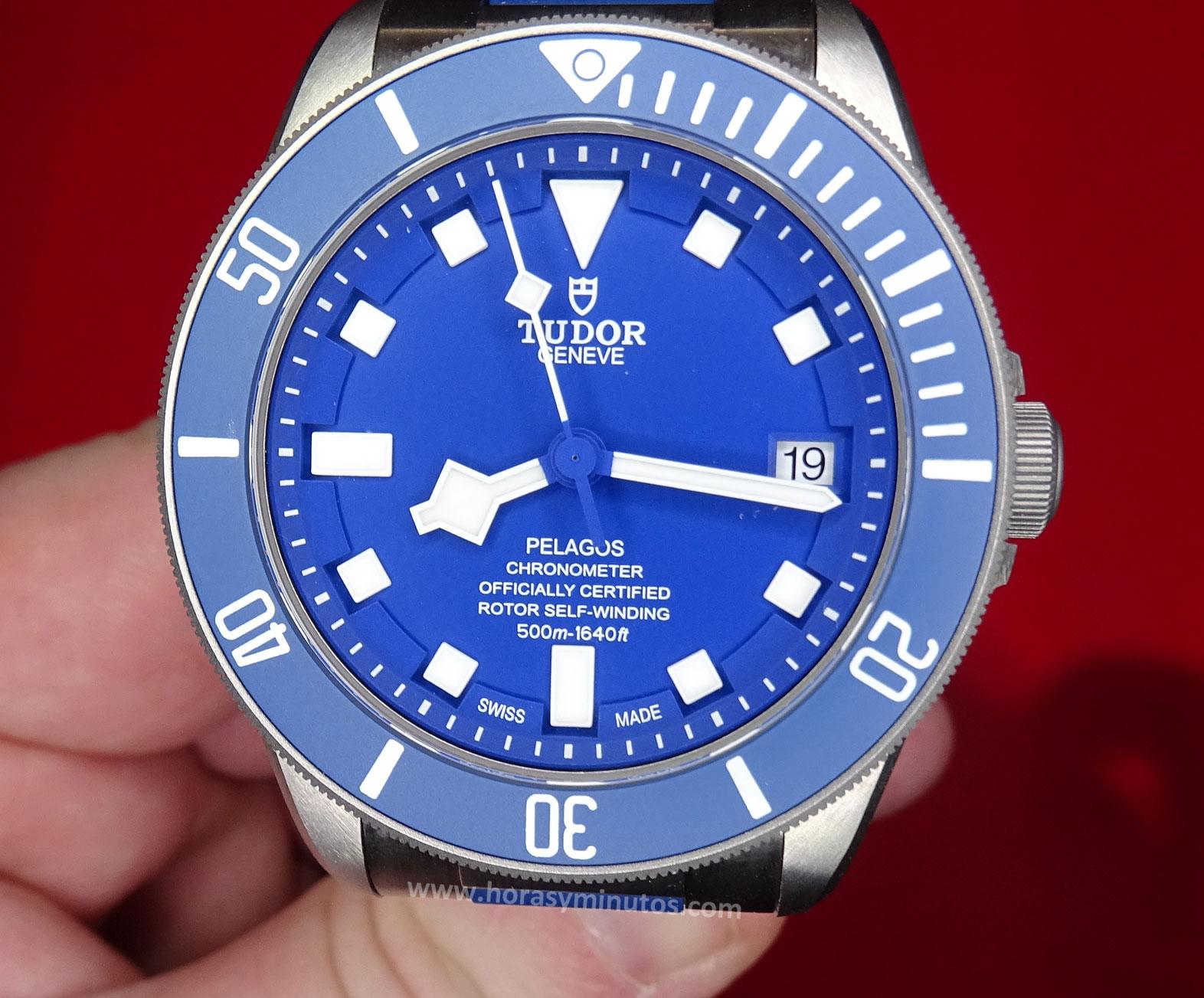 Tudor Pelagos Azul