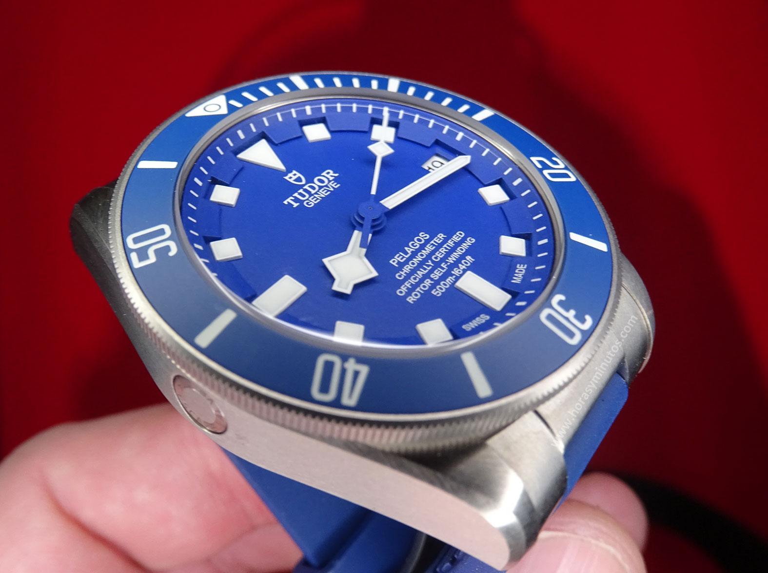 Tudor Pelagos Azul perfil