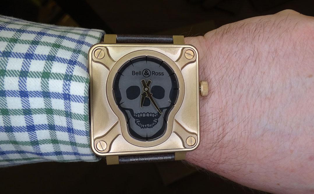 Bell Ross Skull watch